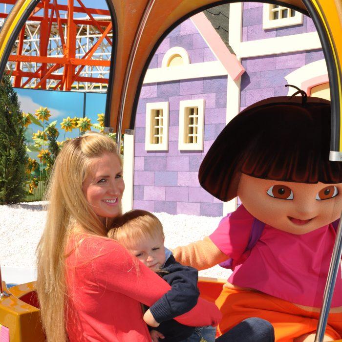 Dora's World Voyage, Nickelodeon Land, Pleasure Beach Blackpool